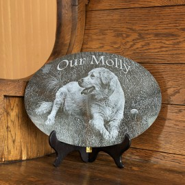 Pet Marker: Laser Etched Plaque